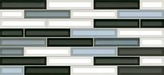Фото Inter Cerama плитка мозаичная Vitro синяя 23x50 (2350220052)