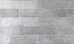 Фото Equipe Ceramicas плитка настенная Tribeca Grey Whisper 6x24.6 (26873)
