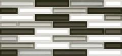 Фото Inter Cerama плитка мозаичная Vitro серая 23x50 (2350220072)