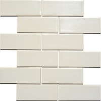 Фото Kotto Ceramica мозаика Brick B 6014 Light Grey 30x30