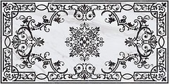 Фото Kerama Marazzi декор Монте Тиберио белый лаппатированный 119.5x238.5 (SG591702R)