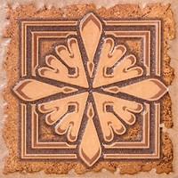 Фото Inter Cerama вставка Adriatica коричневая 9.5x9.5