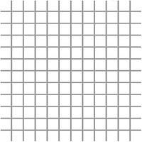 Фото Ceramika Paradyz мозаика прессованная Albir Bianco 30x30 Куб 2.3x2.3