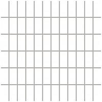 Фото Ceramika Paradyz мозаика прессованная Albir Bianco 30x30 Куб 2.3x4.8