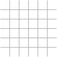 Фото Ceramika Paradyz мозаика прессованная Albir Bianco 30x30 Куб 4.8x4.8