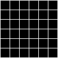 Фото Ceramika Paradyz мозаика прессованная Albir Nero 30x30 Куб 4.8x4.8