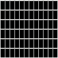 Фото Ceramika Paradyz мозаика прессованная Altea Nero 30x30 Куб 2.3x4.8