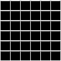 Фото Ceramika Paradyz мозаика прессованная Altea Nero 30x30 Куб 4.8x4.8
