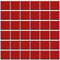 Фото Ceramika Paradyz мозаика прессованная Altea Rosa 30x30 Куб 4.8x4.8