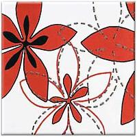 Фото Opoczno декор Aplauz Flower 1 Red 10x10