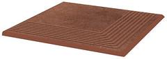 Фото Ceramika Paradyz ступень угловая Taurus Stopnica Narozna Brown 30x30