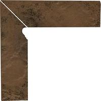 Фото Ceramika Paradyz цоколь Semir Cokol Beige 8.1x30 левый