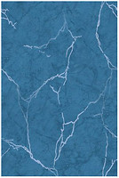 Фото Golden Tile плитка настенная Александрия темно-голубая 20x30 (В13061)