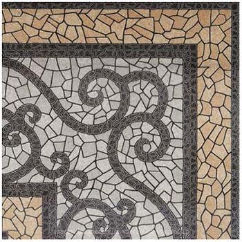 Фото Golden Tile плитка напольная Византия бежевая 30x30 (771730)