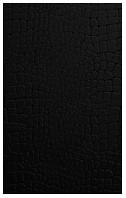 Фото Golden Tile плитка настенная Кайман черная 25x40 (К4С061)