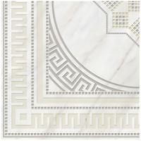 Фото Golden Tile декор Каррара белый 40x40 (Е50810)