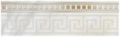 Фото Golden Tile фриз Каррара белый 30x9 (Е50311)