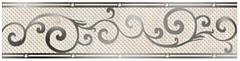 Фото Golden Tile фриз Оникс бежевый 25x6 (И41311)