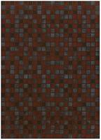 Фото БерезаКерамика плитка мозаичная Квадро бордовая 25x35