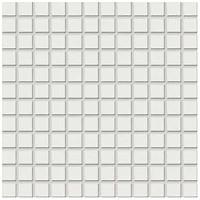 Фото Rako мозаика Color Two белая матовая 29.7x29.7 Куб 2.3x2.3 (GDM02023)