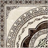Фото Golden Tile декор Вулкано бежевый 40x40 (Д11301)