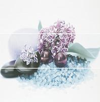 Фото Azuliber декор-панно Gloss Spa Ama 60x60 (комплект 3 шт)