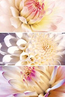Фото Metropol Ceramica декор-панно Wave Simphony 25x50 (комплект 3 шт)