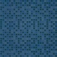 Фото БерезаКерамика плитка мозаичная Квадро G синяя 42x42