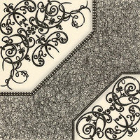 Фото БерезаКерамика плитка напольная Полонез G белая 42x42