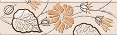 Фото Golden Tile фриз Карат светло-бежевый 6x20 (Е91311)