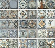 Фото Monopole Ceramica плитка настенная Antique 10x20
