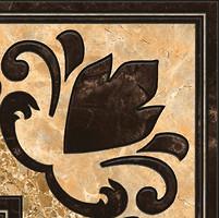 Фото Inter Cerama угол Emperador коричневый 13.7x13.7