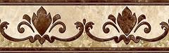 Фото Inter Cerama фриз Emperador коричневый 13.7x43