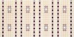 Фото Регул листовая панель 955x482x4 мм Орнамент бордовый (22б)