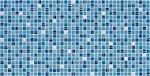 Фото Регул листовая панель 956x480x4 мм Мозаика Кофе синий (81кс)
