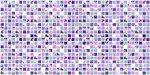 Фото Регул листовая панель 956x480x4 мм Мозаика Сирень (166мс)