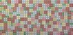 Фото Регул листовая панель 956x480x4 мм Мозаика Блик зеленый (бж1)