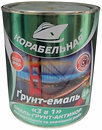 Фото Корабельная Грунт-эмаль 3 в 1 2.8 кг зеленая