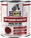 Фото Зебра Народный Мастер ПФ-266 0.9 кг лесной орех