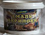 Фото Akrilika эмаль акриловая 0.8 кг белая