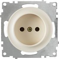 Фото OneKeyElectro Розетка 1E10301301 одинарная без заземления