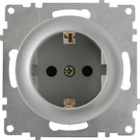 Фото OneKeyElectro Розетка 1E10201302 одинарная с заземлением