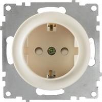 Фото OneKeyElectro Розетка 1E10101301 одинарная с заземлением и защитными шторками