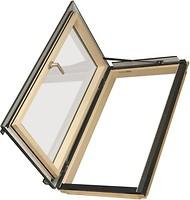 Фото Мансардное окно деревянное Fakro FWL U3 940х1180 1 ств. (пов.) 1-кам.
