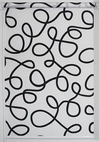 Фото Miranda Геометрия 32.5x150 черно-белый