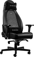 Фото Noblechairs Icon Black/Platinum White