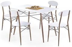 Фото Halmar Record прямоугольный + 4 стула