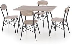 Фото Halmar Kabir прямоугольный + 4 стула