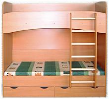 Фото Letro Двухъярусная кровать