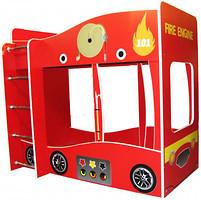 Фото Viorina-Deko Двухъярусная пожарная кровать-машина